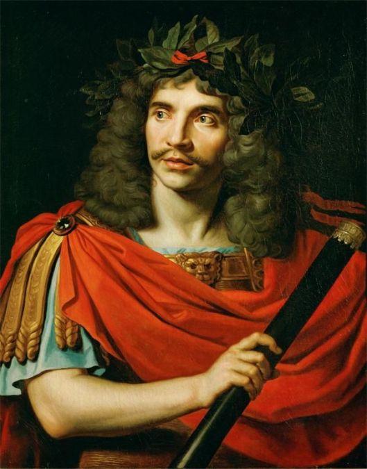 Portrait of Molière by Nicolas Mignard