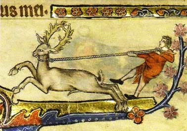 A detail from the Macclesfield Psalter, England, East Anglia, c.1330 MS.1-2005 f.193v