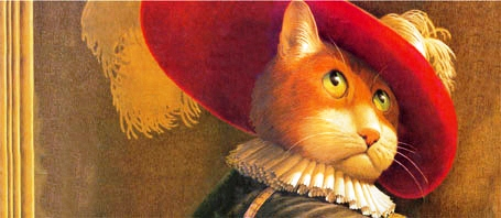 Puss in boots, by Fred Marcellino
