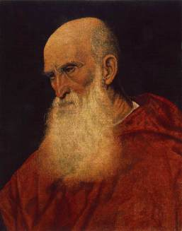 Pietro Bembo by Jacopo Bassano, 1545 (Wikipedia)
