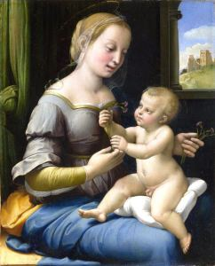 Raphael_Madonna_of_the_Pinks