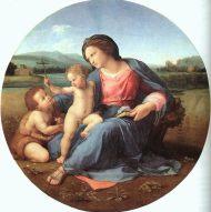 The Alba Madonna, Raphael