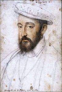 Henri IV, by François Clouet
