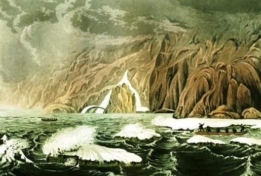 Expedition Doubling Cape Barrow, July 25, 1821, by Sir George Back
