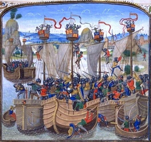 La Bataille de La Rochelle, Jean Froissart