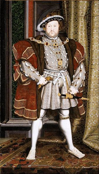King Henry VIII by Hans Holbein the Younger, Walker Art Gallery, Liverpool
