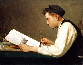 The_young_student_by_Ozias_Leduc,_1894
