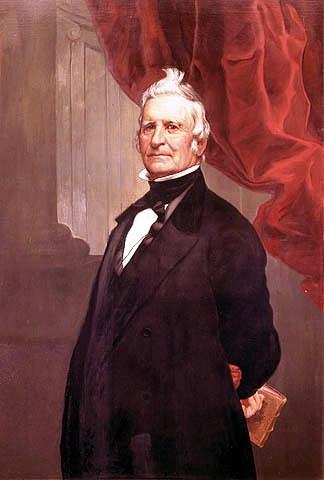 Louis-Joseph Papineau, portrait by Théophile Hamel (1817-1870)