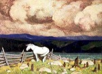 The White Horse, by Clarence Gagnon