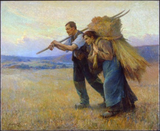 Returning from the Field,  Marc-Aurèle de Foy Suzor-Coté (National Gallery of Canada)