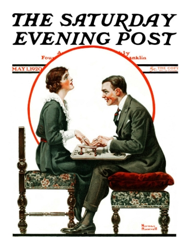 norman-rockwell--ouija-board-saturday-evening-post-cover-may-1-1920_i-G-52-5271-I5RZG00Z