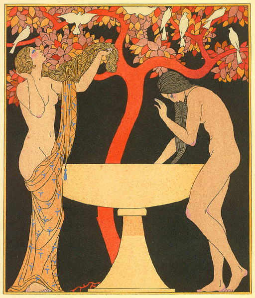 George_Barbier_Untitled_pochoir_from_1922_Corrard_edition_Chansons_de_Bilitis