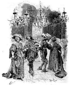 Le Ballet de la Merlaison, by  Maurice Leloir