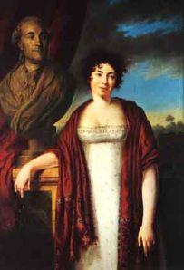 Madame de Staël (1766 - 1817),  Firmin Massot