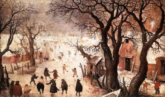 Winter Landscape, by Hendrick Avercamp, 1605
