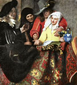 The Procuress, by Johannes Vermeer