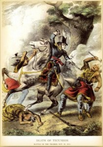 The Death of Tecumseh