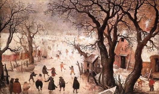 Winter Landscape, Hendrick Avercamp (Photo credit: Wikimedia)