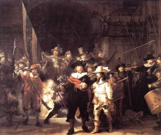 The Night Watch, by Rembrandt van Rijn, 1642