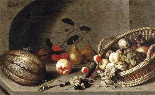 Still-life of Fruit, 1634-1635