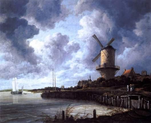 The Windmill at Wijk bij Duurstedec. 1670 Oil on canvas, 83 x 101 cm Rijksmuseum, Amsterdam