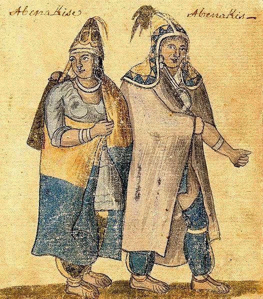 Abenakis, Algonkian Amerindians