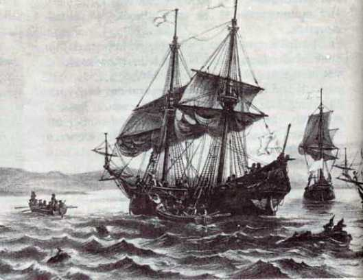 One of Jacques Cartier's Three Boats