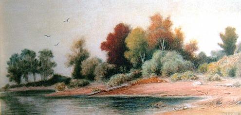 Landscape, by Frederick Arthur Verner