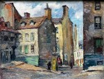 Quebec City, Old Buildings, by Caron
