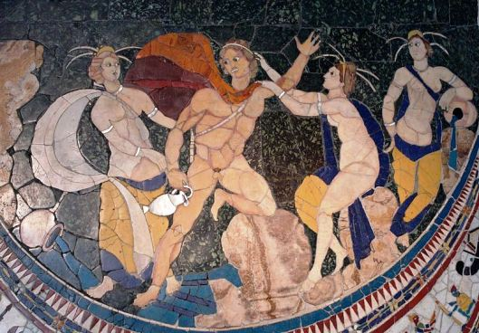 A fourth-century Roman depiction of Hylas and the Nymphs, from the basilica of Junius Bassus