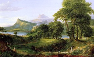 The Course of Empire, Arcadian or Pastoral State, by Thomas Cole