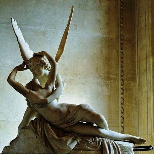 Psyche Revive by Antonio Canova