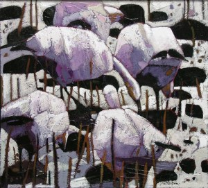 Snow Geese on White Snow, by Chantale Jean 2012<br /><br /><br /><br /><br />