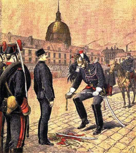 Degradation of Alfred Dreyfus