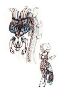 Monster, Book of Kells