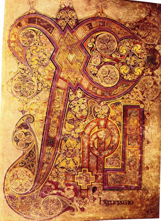 Book of Kells, f 34r