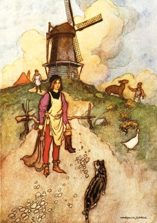 Puss in Boots Warwick Goble