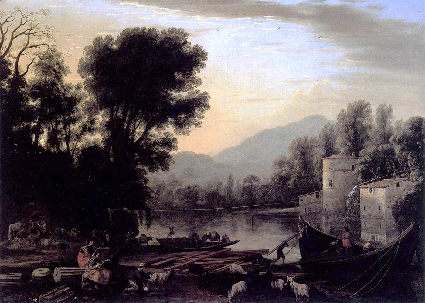 The Mill, by Claude Lorrain