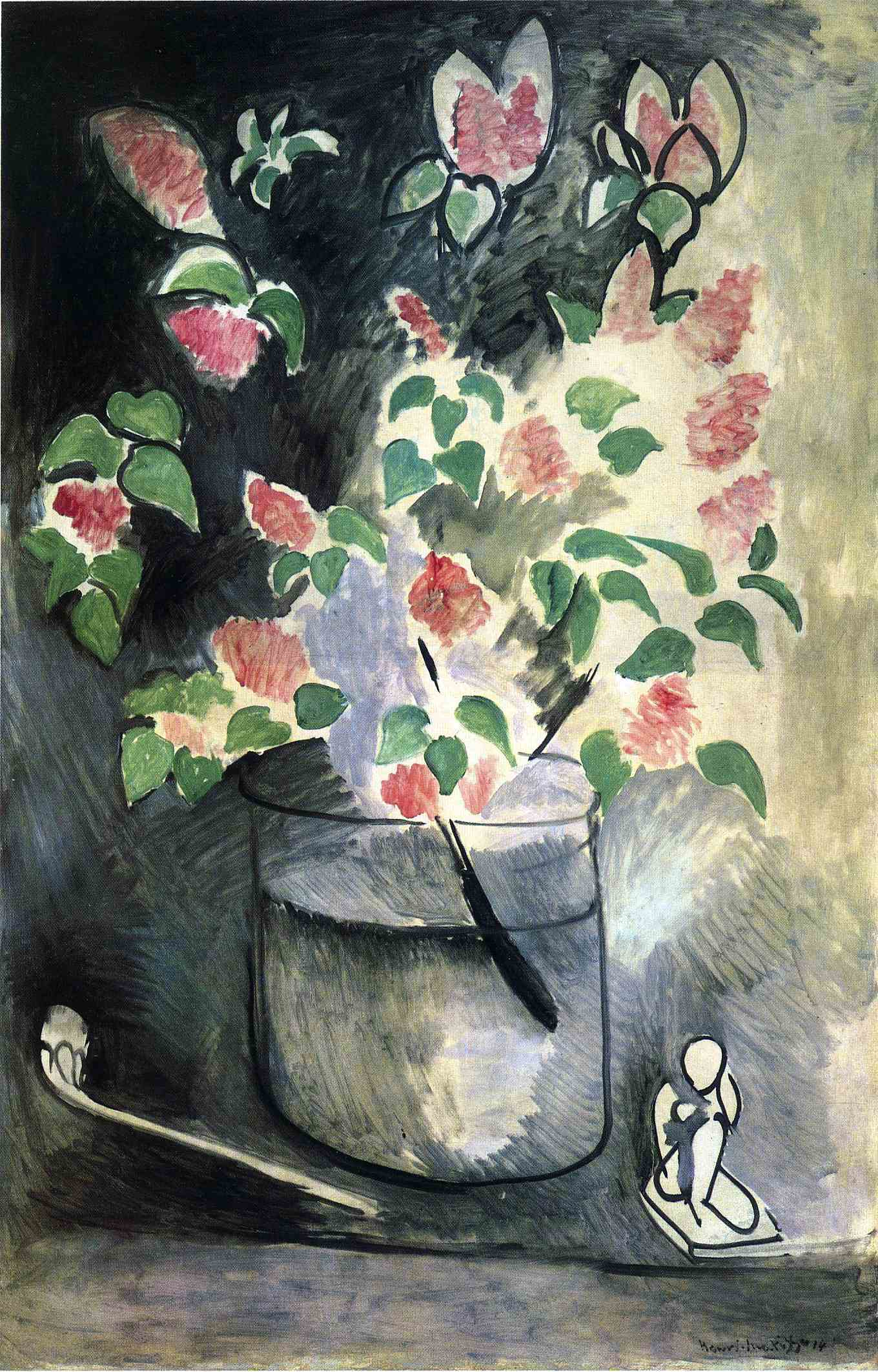 Branch of Lilacs, by Henri Matisse, 1914