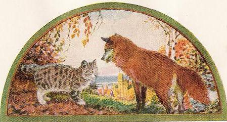 The Cat and the Fox,  by John Rae