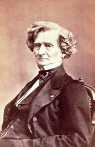 Crop of a carte de visite photo of Hector Berlioz by Franck, Paris, c. 1855