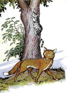 Le Chat et le Renard, by Milo Winter