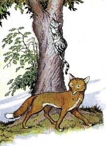 Le Chat et le Renard, by Milo Winter