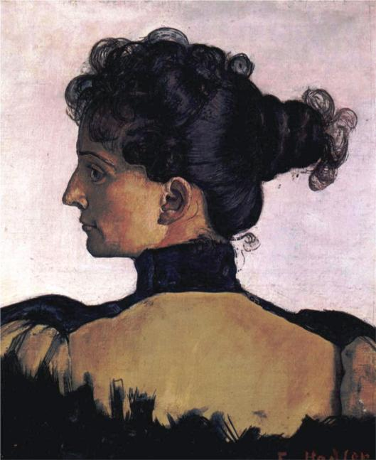 Portrait of Berthe Jacques, wife of the artist (1994)