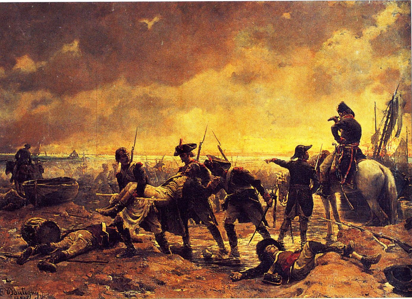 Un Épisode de l'affaire de Quibéron, 1795, by Paul-Émile Boutigny