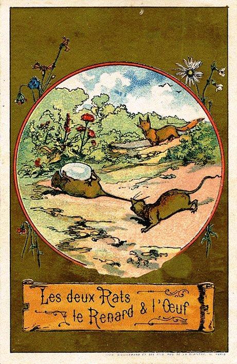 Image publicitaire, Ets Bourcheix & fils, nouveautés, draperie, à Clermont-Ferrand (Photo credit: lafontaine.château-thierry.net)