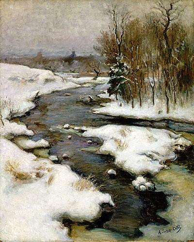 Rivière Bourbeau, by Suzor-Coté