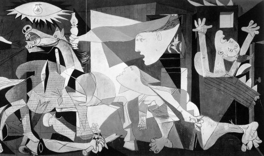 Guernica, by Picasso, 1937
