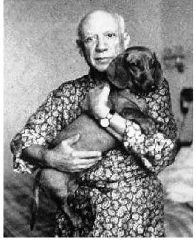 Pablo Picasso: Tribute to a Cat and a Dog (3/4)