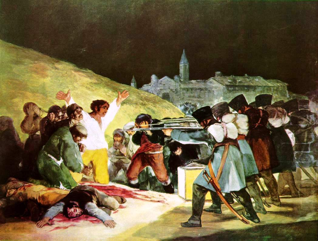 Executions of the Third of May, by Francisco Goya, 1814